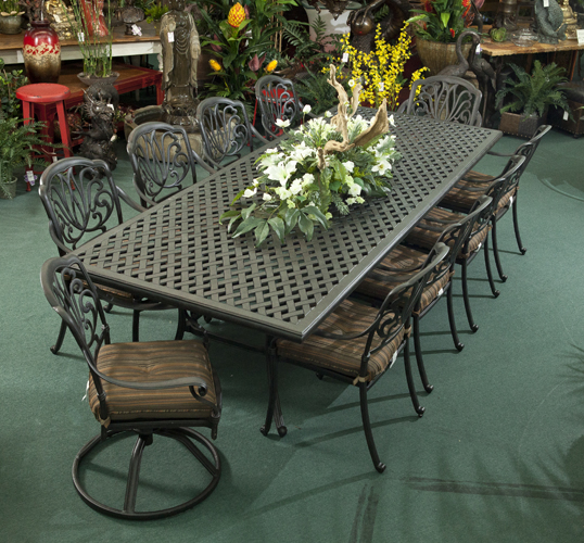napa valley pottery floral has patio furniture known for its style comfort and quality we have a unique range of patio furniture that will stand the